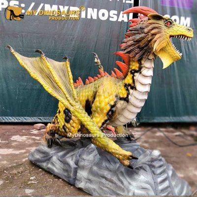animatronic flying dragon