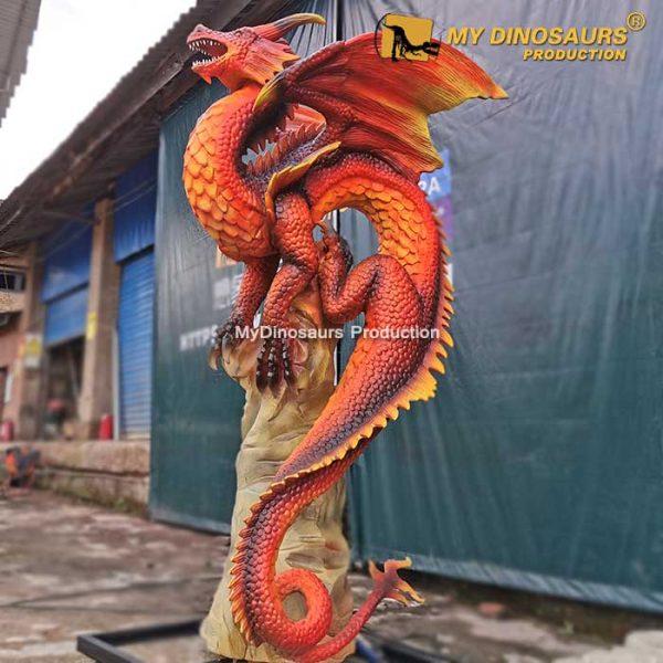 life size animatronic dragon