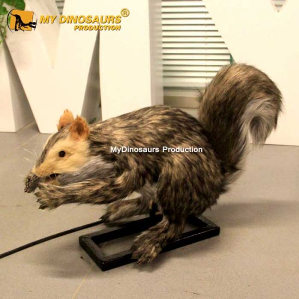 Animatronic squirrel