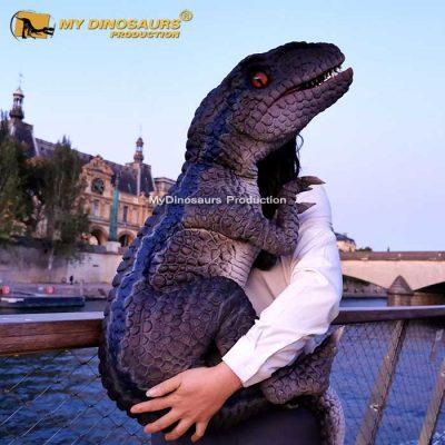 raptor hand puppet 2