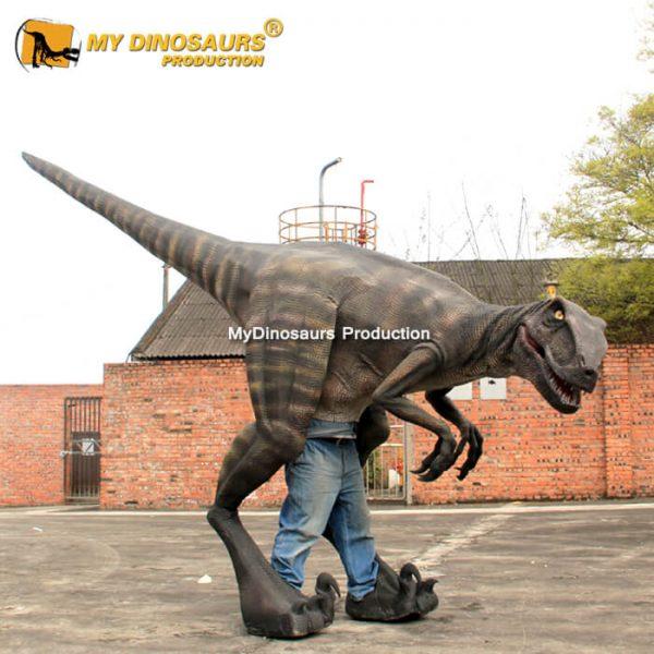 Velociraptor costume 2