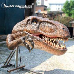 Wall Mounted Dinosaur Head 2