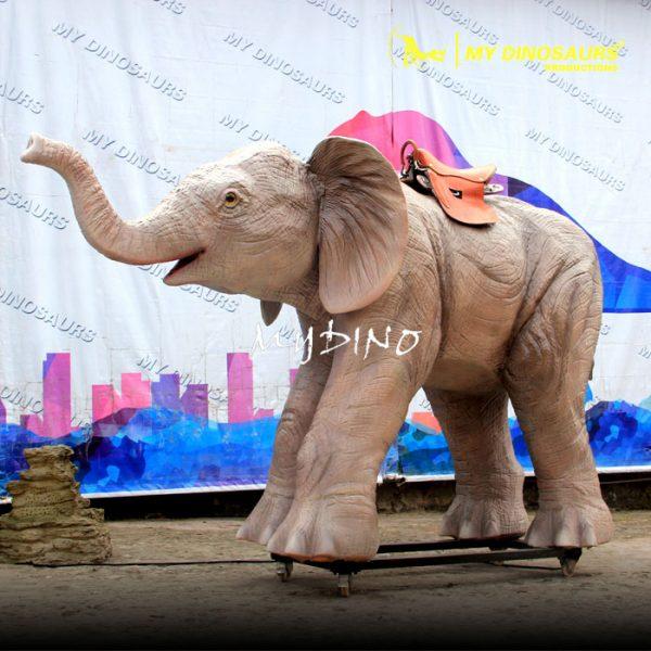 Animal ride elephant 1
