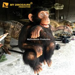 Animatronic monkey