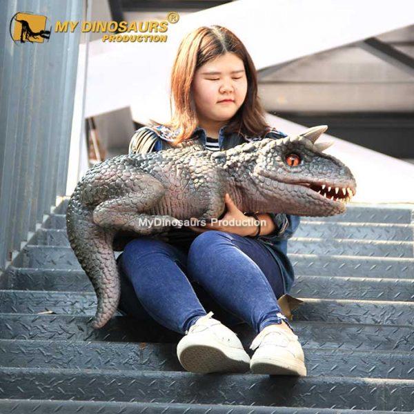 Dinosaur puppet