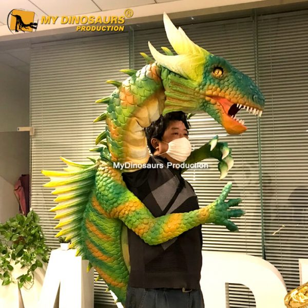 Dragon hand puppet 1