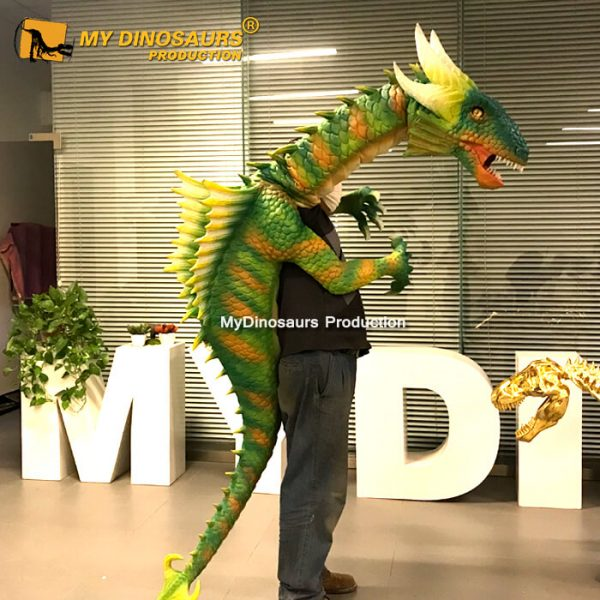 Dragon hand puppet 2