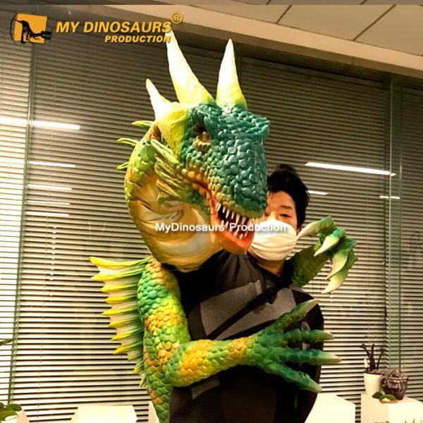 Dragon hand puppet