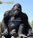 Gorilla statue 1