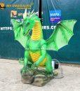 Smoky animatronic dragon 2