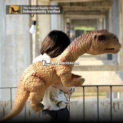 dinosaur puppet youtube