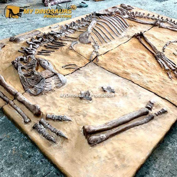 trex fossil cast 1