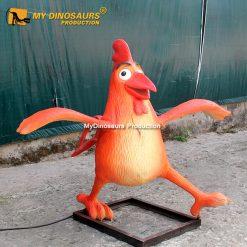 Animatronic chicken 2