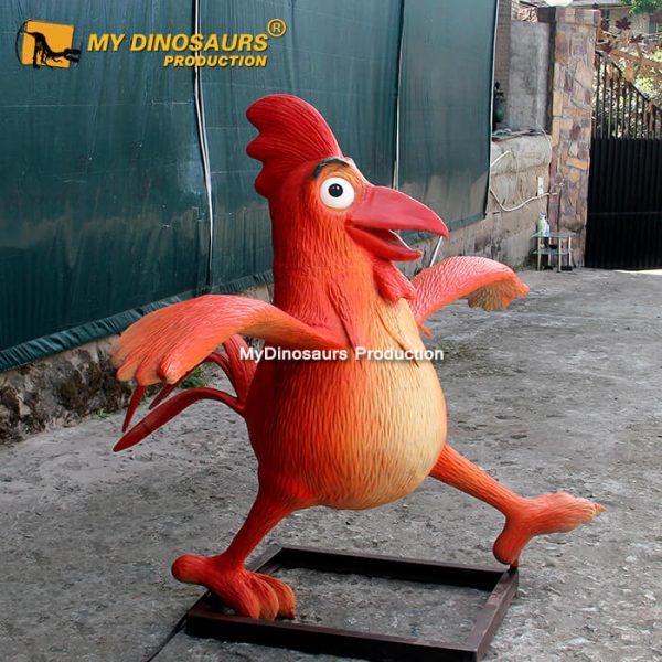 Animatronic chicken