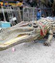 animatronic Deinosuchus