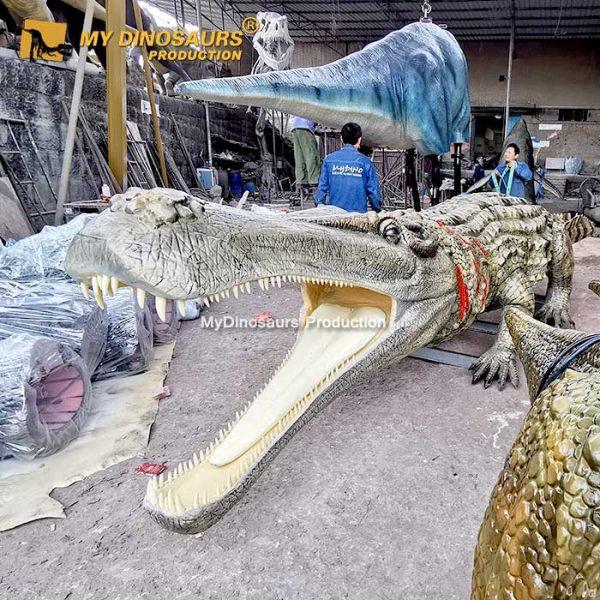 animatronic Deinosuchus 3