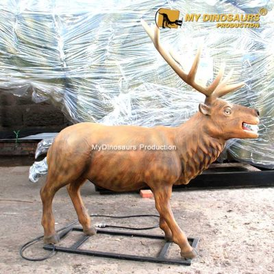 animatronic reindeer 1