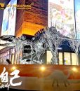 silver dinosaur skeleton 3