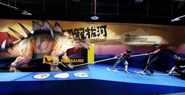 dinosaur attraction after the pandemic