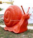 Large size snail statue 2