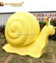 Large size snail statue 3
