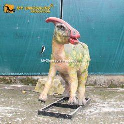animatronic dinosaur Parasaurolophus 1