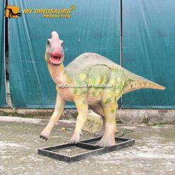 animatronic dinosaur Parasaurolophus 2