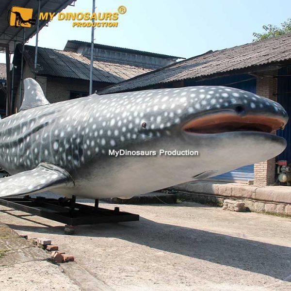 animatronic whale shark