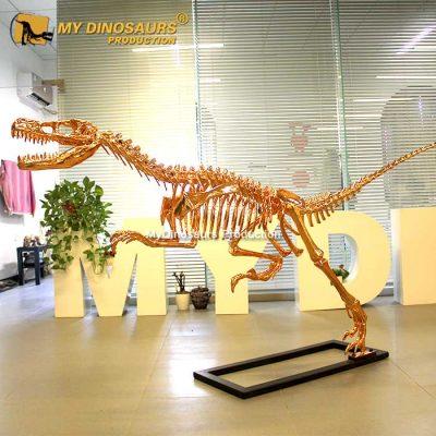 rose gold raptor skeleton 2