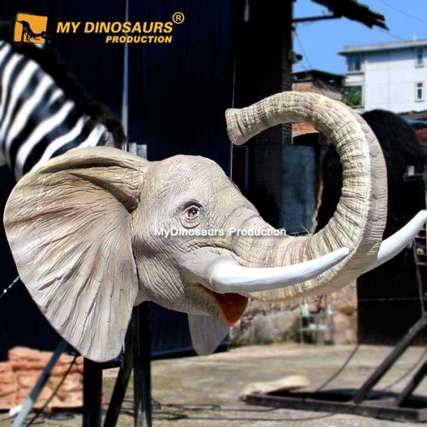 Animatronic Elephant Head
