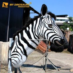 Animatronic Zebra Head 1