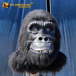 Animatronic gorilla head 1