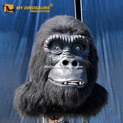 Animatronic gorilla head 1