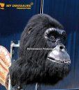 Animatronic gorilla head