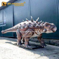 Ankylosaur statue 1