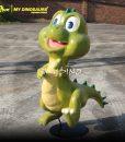 Cartoon Baby Dinosaurs 4