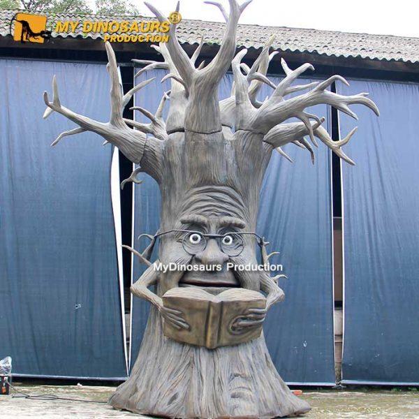 wisdom talking tree animatronic 2