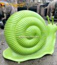 big snail sculpture
