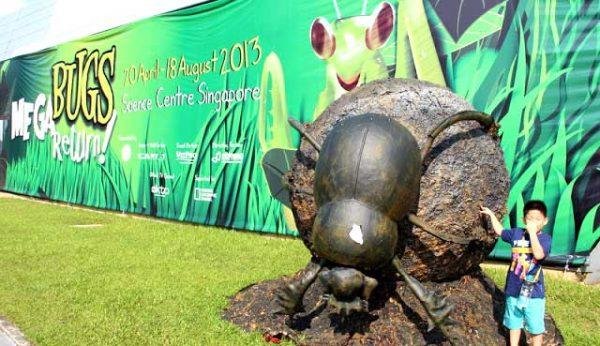 Megabugs Return - Giant Size Animatronics Insect