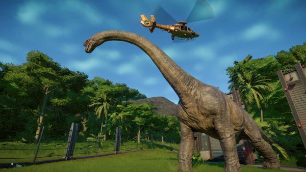 jurassic forest dinosaur
