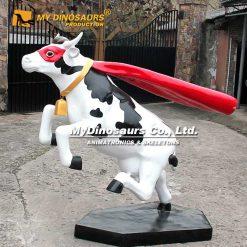 Super cow statue