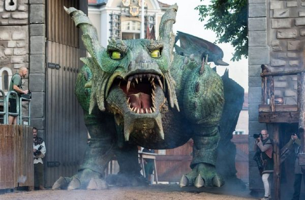 lost world of animatronic dragon