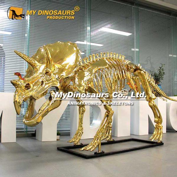 gild triceratops skeleton