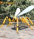 animatronic big wasps