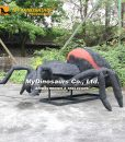 animatronic giant spider