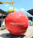 Fiberglass toffee apples statue 1