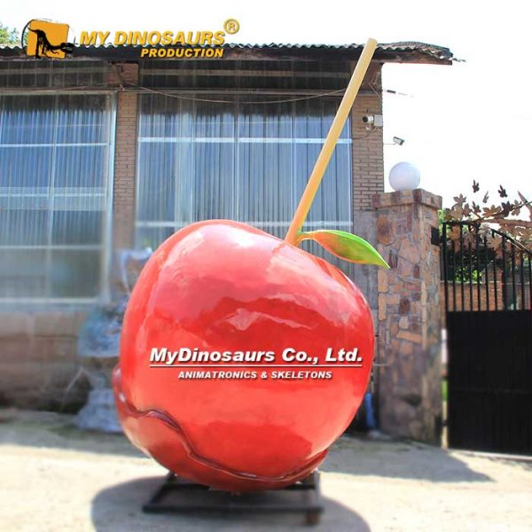 Fiberglass toffee apples statue