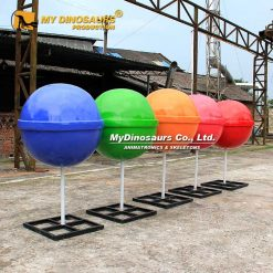 Giant Lollipop Sculpture