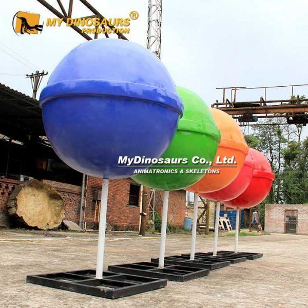 Giant Lollipop Sculpture 3