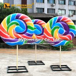 Giant Lollipop Sculpture 4
